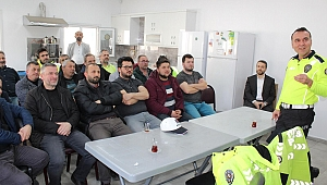 Büyükşehir Trafik ekiplerine hizmet içi eğitim