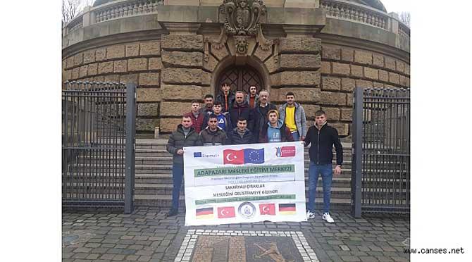 Çırak Öğrencilerin Almanya Stajı Başladı.