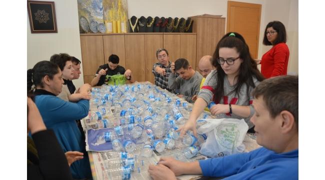 Engelsiz yüreklerden 'Sıfır Atık' projesine anlamlı destek
