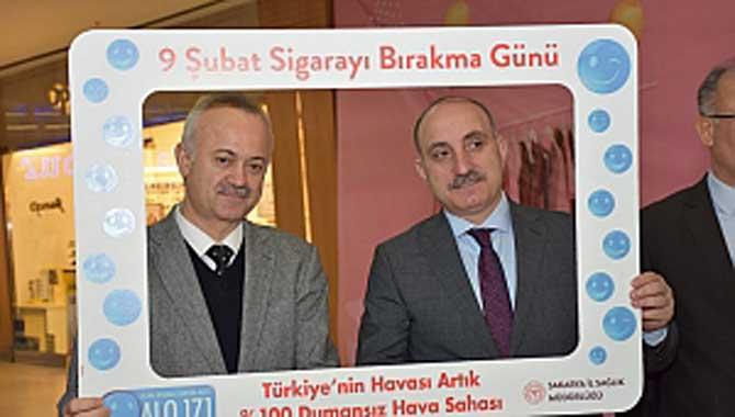 ERENLER 'SİGARAYA HAYIR' DEDİ