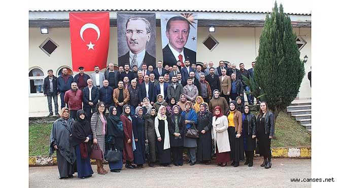 FERİZLİ AK PARTİ İLÇE DANIŞMA MECLİS TOPLANTISI YAPILDI
