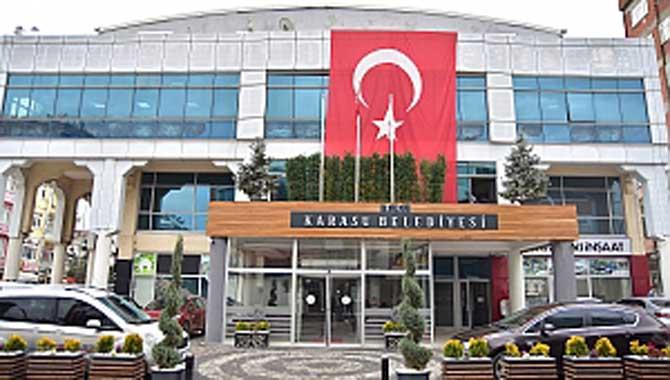 """""""Karasu Türk Bayraklarıyla Donatıldı"""""""