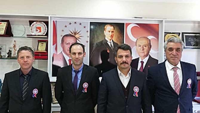 Kaymakam Arslantürk ve Başkan Pilavcı'ya Vergi Haftası Ziyareti