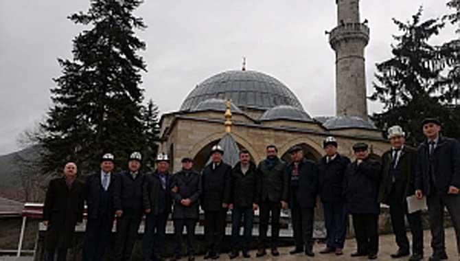 Kırgızistan'dan gelen heyet Taraklıda