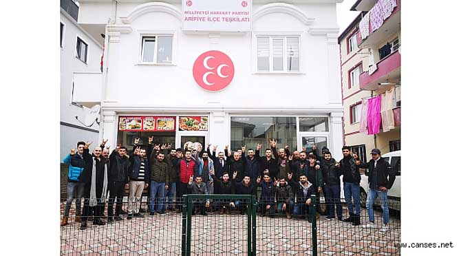 """MHP Arifiye İlçe Teşkilatı"""" Geleceğimizin Teminatı Gençleri Kazanalım"""
