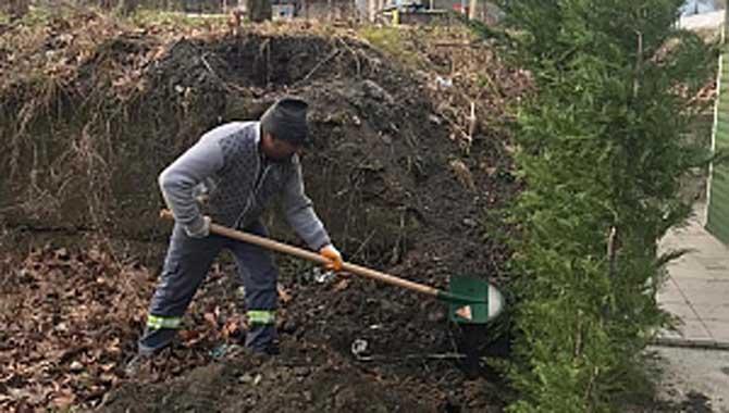Park Bahçeler Müdürlüğü Çalışıyor, Sapanca Güzelleşiyor