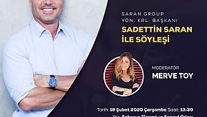 Sadettin Saran SATSO'da Girişimcilik Zirvesi'ne Geliyor