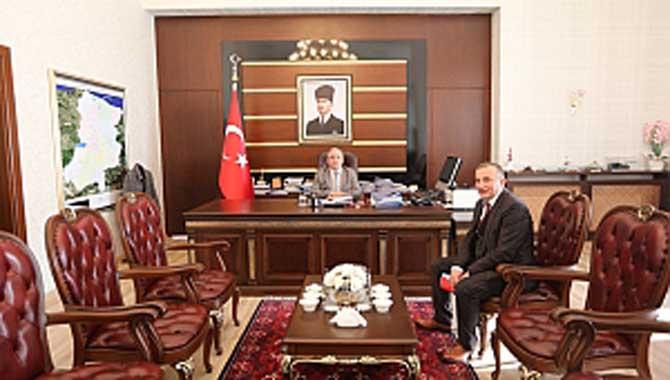 TEİAŞ 5. Bölge Müdürü Yavuz'dan Vali Nayir'e Ziyaret