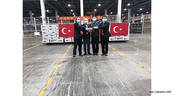 TİM'DEN KORONA'NIN VURDUĞU ÇİN'E TIBBİ YARDIM