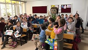 Tomurcuk ile çocuklar çevre bilinci kazanıyor