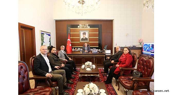 Türkiye Rafting Federasyonu Başkanı Yardımcı dan Vali Nayir e Ziyaret