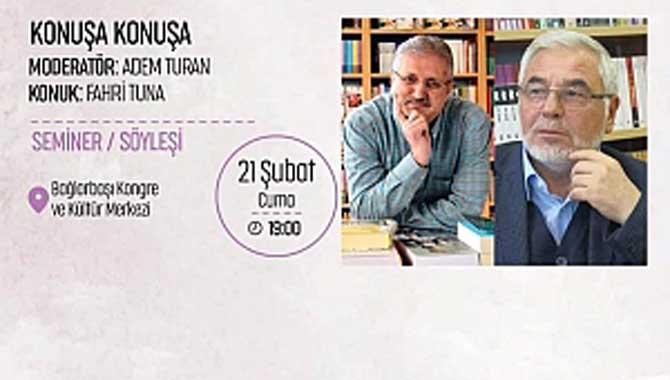 Yazar Fahri Tuna İstanbul'da Gençlerle Buluşacak