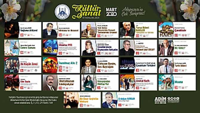 Adapazarı Kültür Sanat Dopdolu Mart