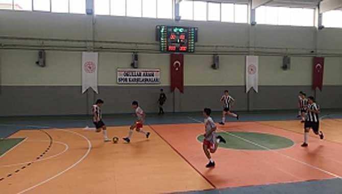 Karasu Futsalda Heyecan Dorukta