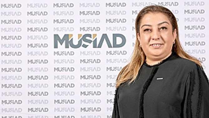 MÜSİAD Kadın Başkanı Öz'ün Basın Açıklaması
