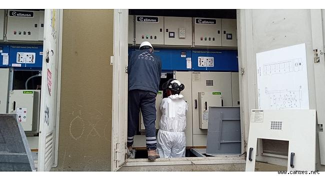 SEDAŞ ekipleri kesintisiz çalışmaya devam ediyor.