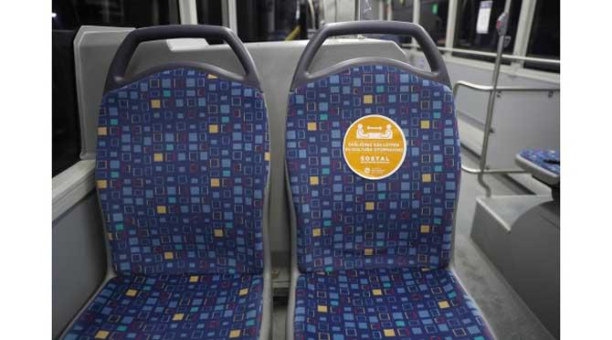 Toplu taşımada koronavirüs önlemleri arttırıldı