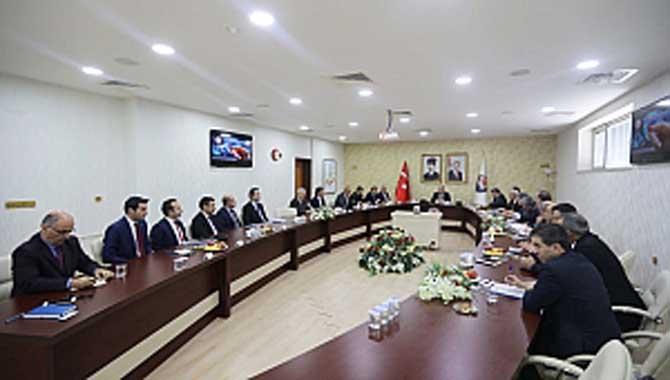 Vali Nayir Salgın Konusunun Ele Alındığı Toplantıya Başkanlık Etti