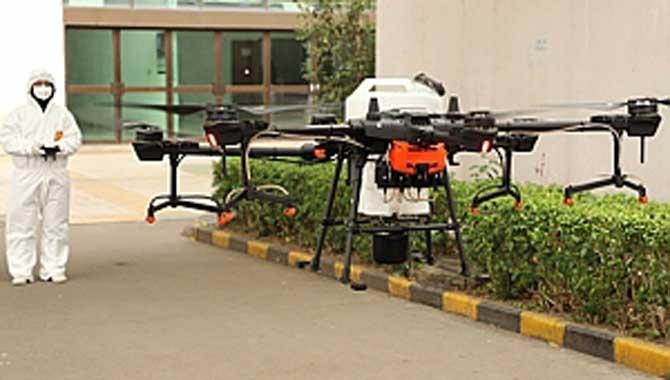 DRONLARLA COVID-19 MÜCADELESİNİN 4 YOLU