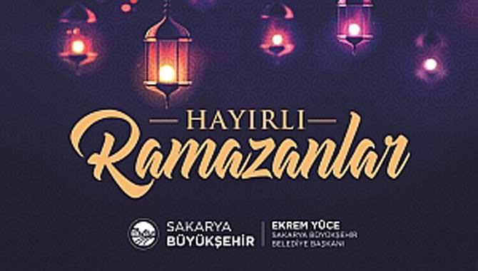 Hayırlı Ramazanlar Sakarya