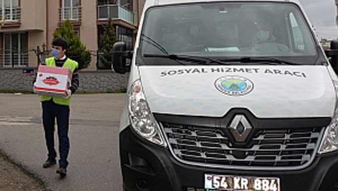 Hendek Belediyesi yardıma koşuyor