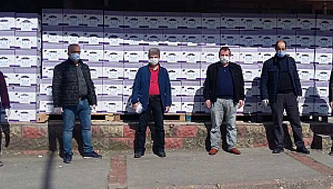 Sakarya Trabzonlular Derneği'nden gıda yardımı