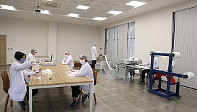 Serdivan Belediyesi Maske Üretimine Başladı