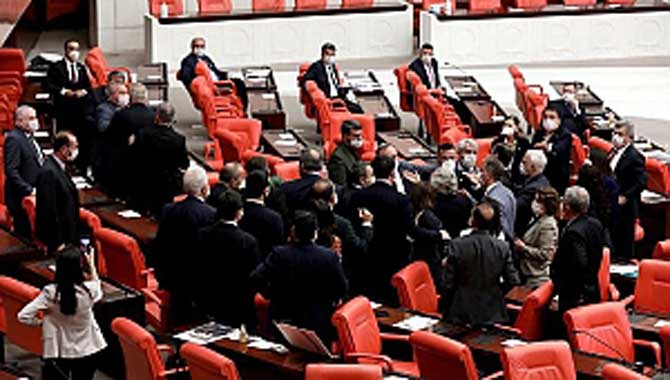 TBMM'de AKP-CHP arasında ikinci kavga