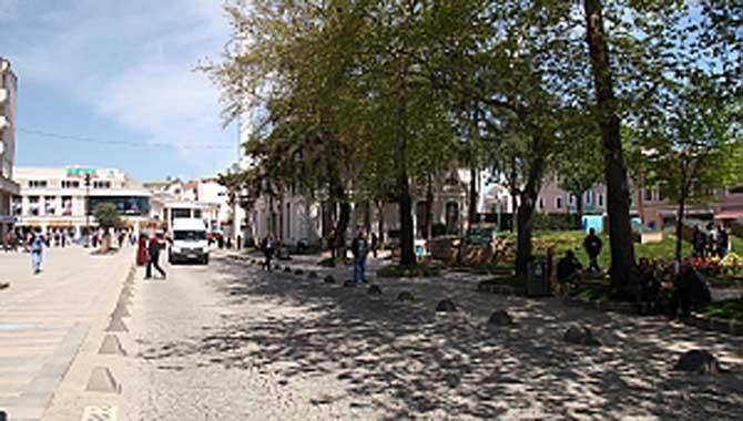 Bankalar Caddesi'nin o kısmı yenileniyor