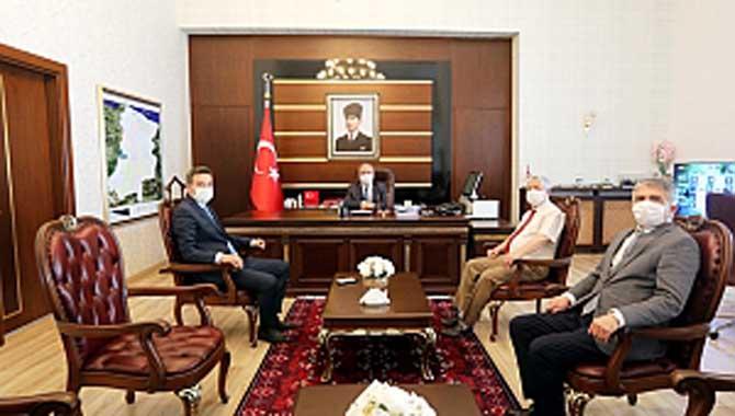 DSİ'nin Yeni Bölge Müdüründen Vali Nayir'e Ziyaret