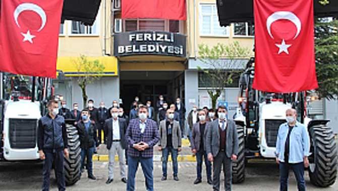Ferizli Belediyesi Araç Parkurunu Güçlendiriyor
