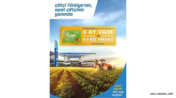 OPET ve Denizbank'tan tarıma tam destek
