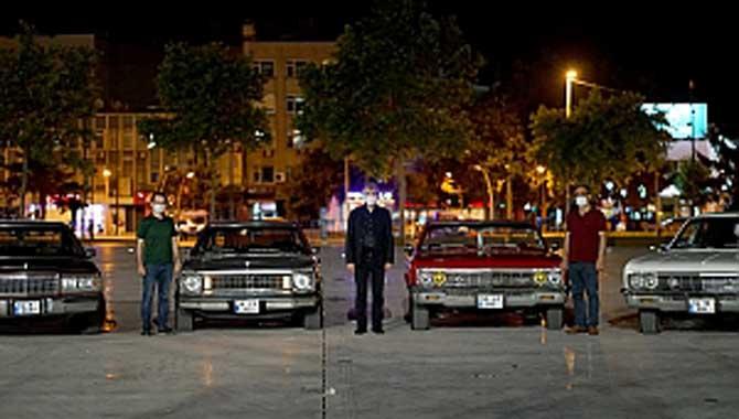 Arabalı sinema etkinliğine yoğun ilgi
