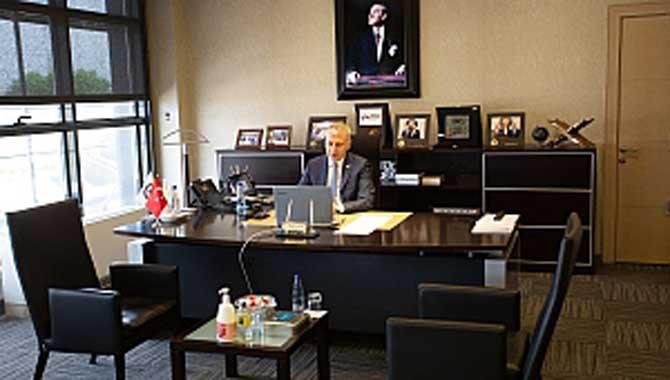 Başkan Altuğ, Koronavirüs sürecini TRTHaber'de değerlendirdi