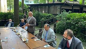 Başkan Esat Delihasan Sakarya'da