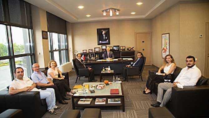 CHP Sakarya İl Başkanlığından SATSO'ya Ziyaret