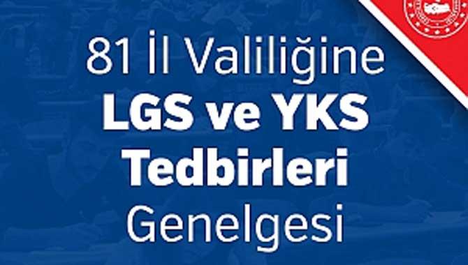 LGS ve YKS Tedbirleri