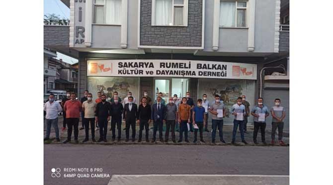 Rumeli Balkan Kültür ve Dayanışma Derneği'ne taze kan...