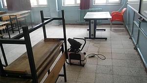 Sapanca'da Okullar Sınav Öncesi Dezenfekte Edildi