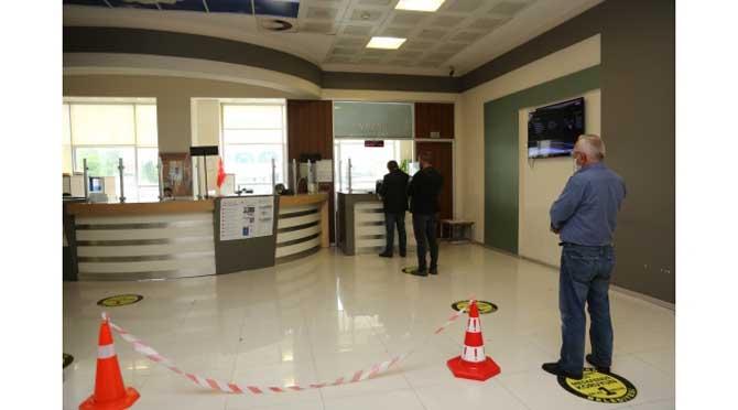 Serdivan Belediyesi'nde Normalleşmenin İlk Günü