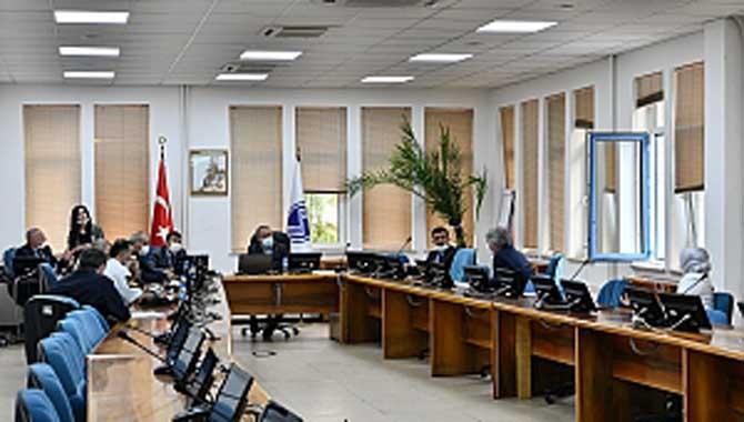 Sınav Koordinasyon Kurulu Rektör Savaşan Başkanlığında Toplandı