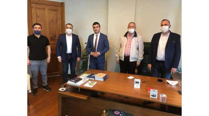 SYKD'den Kültür Daire Başkanı Resul Narin'e ziyaret