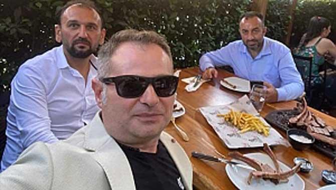 Uğur Dündar; Dostları Yener ve Candan'ı İstanbul'da ağırladı