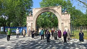 YADEM yaşlıları Millet Bahçesi'ni gezdi