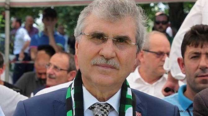 Başkan Ekrem Yüce'den Sakaryaspor'a 100 bin TL'lik destek