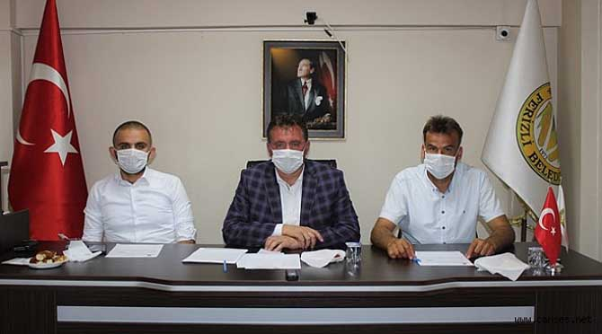 FERİZLİ BELEDİYESİ TEMMUZ AYI MECLİS TOPLANTISI YAPILDI