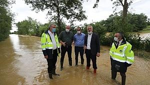 Kaynarca'da metrekareye 72 kilogram yağış düştü