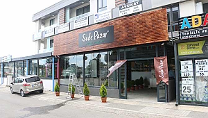Sade Pazar Serdivan'da açıldı