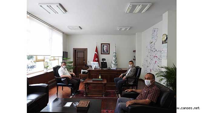 """""""Sarı'dan DSİ 3. Bölge Müdürüne Ziyaret"""""""