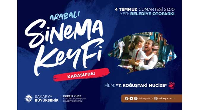 Sinemaseverler Karasu'da buluşacak